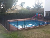 Installation of Alvifence safety fence in Boadilla del Monte