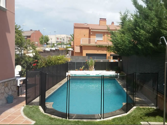 Alvifence fence for pool safety San Agustin del Guadalix